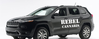 Rebel Cannabis Marketing Jeep
